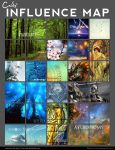 Influence Map by Cnids