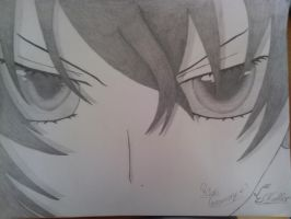 Highschool Dxd : Rias Gremory Angry by ElfCaller