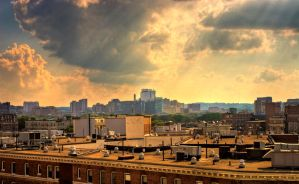 Boston Cityscape 1 by JohnDoe6