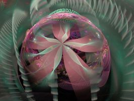 Floral Paperweight by DWALKER1047