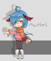 ADOPT AUCTION Button Bunny (OPEN) by princeGab