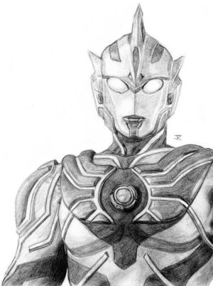 Ultraman colouring pages