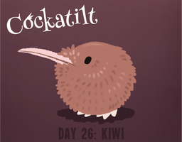 Birdstarter Day 26: Kiwi by Furrama