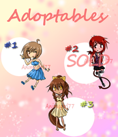 Adoptables by animegirl77