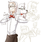 Mr peabody by ohthree
