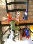 MLP Customs: The Avengers by marienoire