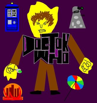 Doctor Who Tribute Doodle - Summer 2014 by ESPIOARTWORK-102