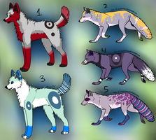 Some Adopts by CandyCaane