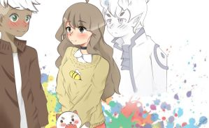 Bee and Puppycat by Tak0Luka