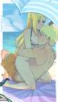 Naruto And Ino In The Beach 2 by hernandez200