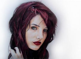 Susan Coffey Drawing by Lewis3222