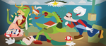 War of Mushroom Kingdom by TheCuraga