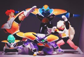 Ginyu Force Figures by AmyThunderbolt