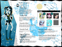 Monster High OC: Rivera Oceana by iOhimesama