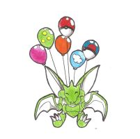 Floating Scyther (Request) by WesleyFKMN