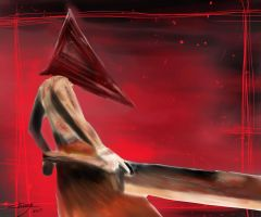 Pyramid head by Betsu-Myah