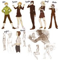 Persona 4 Genderbend by french-teapot