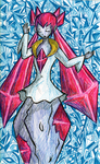 Diancie by AliRose-Art