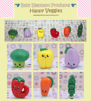 .: Happy Veggies :. by moofestgirl