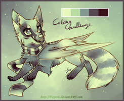 Colour Challenge - Dax by Fayven