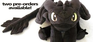 Toothless preorder by MagnaStorm
