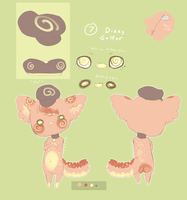 Critter Refs .:Homohelvetti:. by Pieology