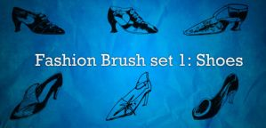Fashion Brushes 1: Shoes by lukataylo