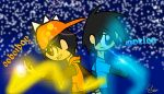 Boboiboy And My Oc by dilz9015