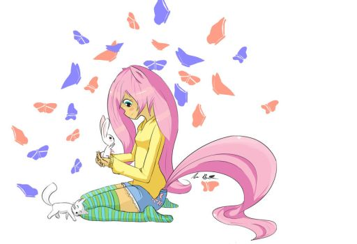 Fluttershy by Heretic-Clef