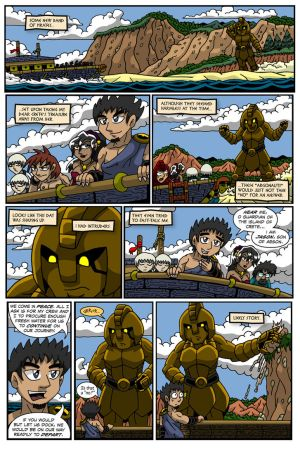 Talos Comic Page 3 Preview