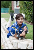 Chun-Li - Blue Beauty by Kuragiman