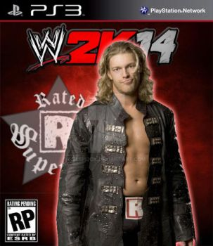 WWE 2k14 Cover Contest EDGE Entry by ELSHOCK