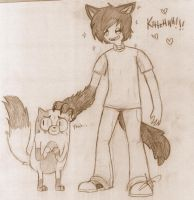 OMG Kitteh by CuriousInferno