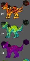 Microkia Batch - bright colors *v* by pandoras-island