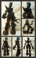 Bionicle MOC - Zero Star 2.2 by Alex-Darkrai