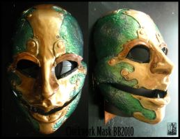Finished Clockwork Mask by Magpieb0nes