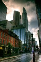 Yonge street after the rain. by mitch-meister