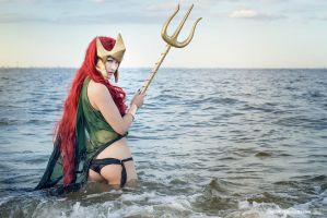 Ocean Queen - DC Comics: Flashpoint Paradox by Mostflogged