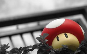 Super Mario Mushroom Selective Color by ChrisHateZ