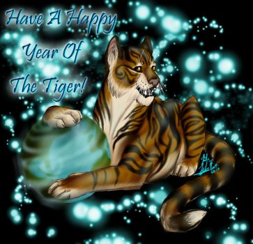 Year of the tiger 2009-2010 by SongOfTheLoneWolf