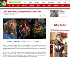 LB  and GA-HQ.com on Destructoid by Reinhold-Hoffmann