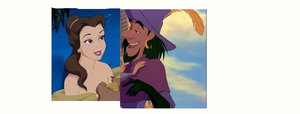 Belle and Clopin xxx by lovepeacebubble121x