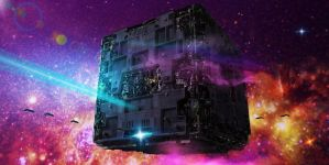 BORG CUBE(startrek) by scifilicious