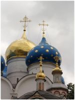Domes of Assumption Cathedral by chur