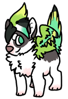 Feral Chibi Commission by FRUlT