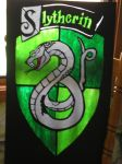 Slytherin window decor by Shadowind