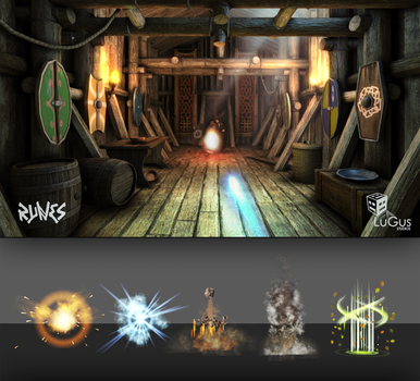 LuGus Studios' Runes: magic effects preview by JanTuts