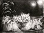 Midnight Tigers by Noxiihunter