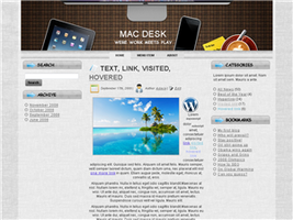 Mac desk theme for WP_ Joomala by TheGraphicGeek