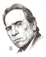 TOMMY LEE JONES in 30 mins by MalevolentNate
